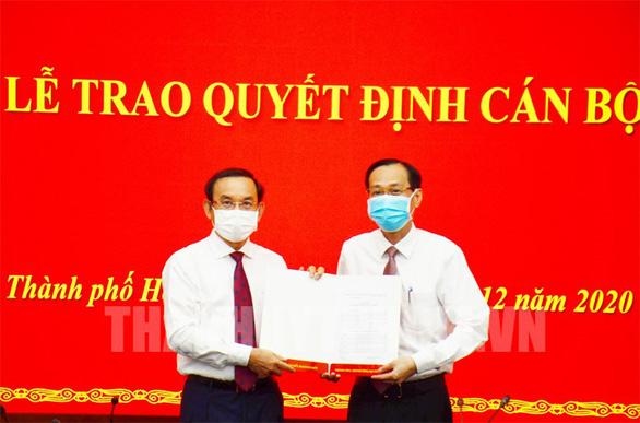 Phó chủ tịch UBND TP.HCM Lê Thanh Liêm giữ chức trưởng Ban Nội chính Thành ủy - Ảnh 1.