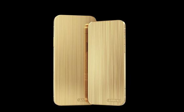 Xuất hiện iPhone 12 mạ vàng không camera, giá từ 126 triệu đồng - Ảnh 1.