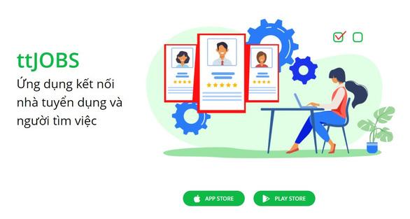 Thử nghiệm ứng dụng tuyển dụng, tìm việc trực tuyến Tuổi Trẻ Tìm Việc - ttJOBS - Ảnh 2.