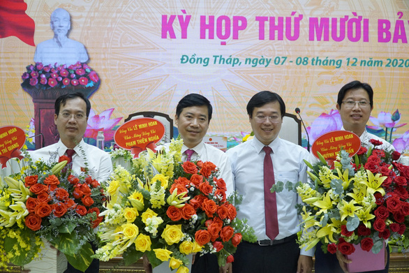 Đồng Tháp bầu mới chủ tịch và hai phó chủ tịch UBND tỉnh - Ảnh 1.