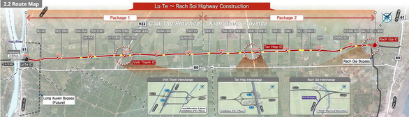 Cuối tháng 12 sẽ đưa vào sử dụng tuyến cao tốc Lộ Tẻ - Rạch Sỏi - Ảnh 3.