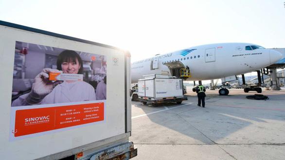 Indonesia đã nhận 1,2 triệu liều vắc xin COVID-19 của Trung Quốc - Ảnh 1.