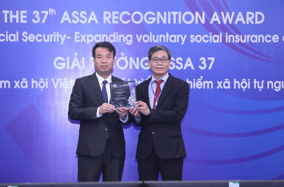 Bảo hiểm xã hội Việt Nam nhận giải thưởng của Hiệp hội An sinh xã hội ASEAN - Ảnh 1.