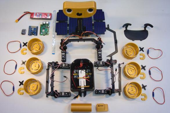 Châu Âu mở tư liệu miễn phí cho mọi người tự in 3D, lắp ráp tàu thám hiểm sao Hỏa - Ảnh 3.