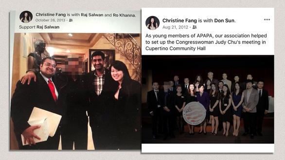 Nữ sinh viên Trung Quốc bị tố đổi thân xác lấy quan hệ chính trị ở Mỹ - Ảnh 2.
