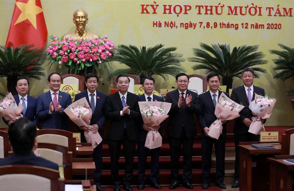 Ông Nguyễn Ngọc Tuấn làm chủ tịch HĐND thành phố Hà Nội - Ảnh 4.