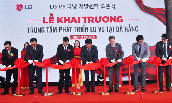 Tập đoàn LG mở trung tâm nghiên cứu tại Đà Nẵng sau hơn 2 tháng chuẩn bị - Ảnh 1.