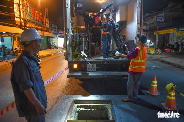 Cận cảnh robot khảo sát cống ngầm ở TP.HCM - Ảnh 7.