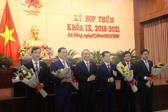 Đà Nẵng có chủ tịch, phó chủ tịch UBND và chủ tịch HĐND mới - Ảnh 1.