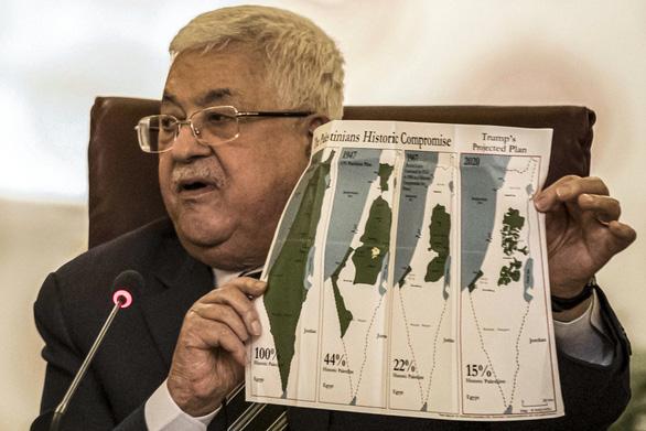 Palestine tuyên bố cắt đứt mọi quan hệ với Mỹ và Israel - Ảnh 1.