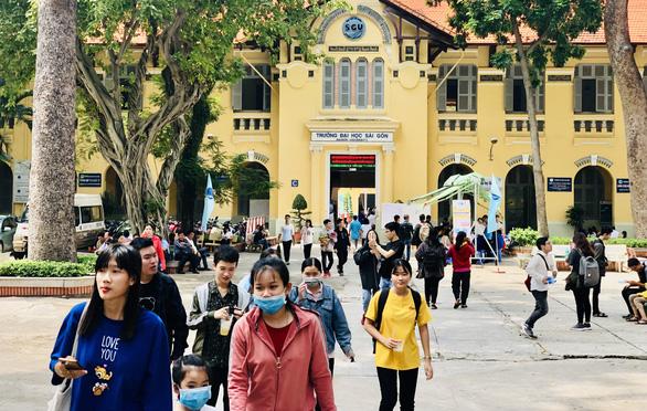 Trường đại học thứ 2 tại TP.HCM được tổ chức thi năng lực ngoại ngữ - Ảnh 1.