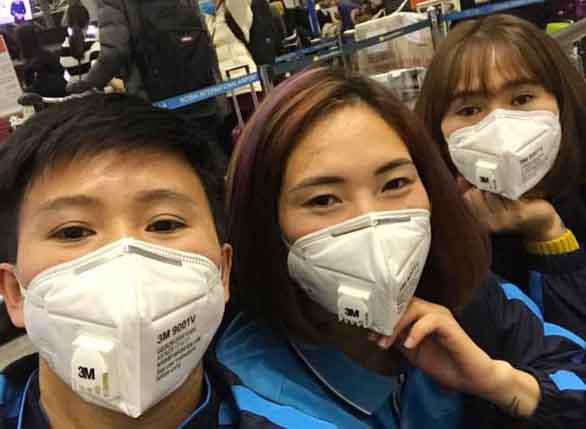 Hủy thi đấu, tập huấn tại Trung Quốc - Ảnh 1.