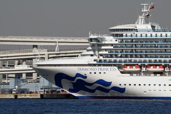 Tổng cộng 135 người nhiễm virus corona trên du thuyền ở Nhật - Ảnh 1.