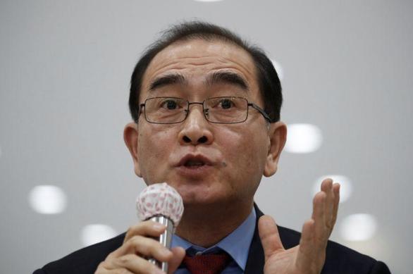 Cựu quan chức Triều Tiên đào tẩu tham gia vận động tranh cử ở Hàn Quốc - Ảnh 1.