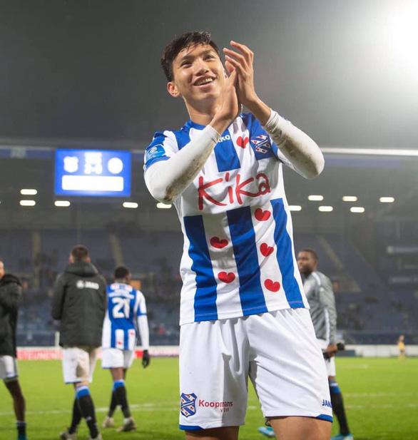Văn Hậu lần thứ hai liên tiếp đá trọn 90 phút cho Jong Heerenveen - Ảnh 1.