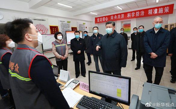 Chủ tịch Tập Cận Bình thị sát bệnh viện phòng chống corona ở Bắc Kinh - Ảnh 3.