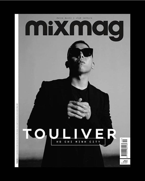 Nhà sản xuất âm nhạc Touliver lên bìa tạp chí Mixmag - Ảnh 2.