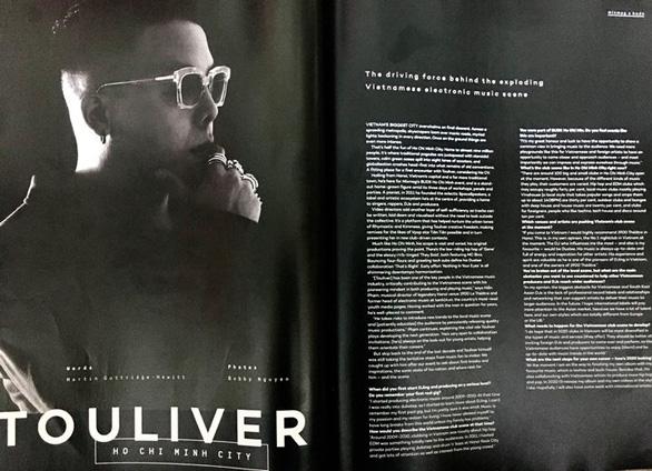 Nhà sản xuất âm nhạc Touliver lên bìa tạp chí Mixmag - Ảnh 4.