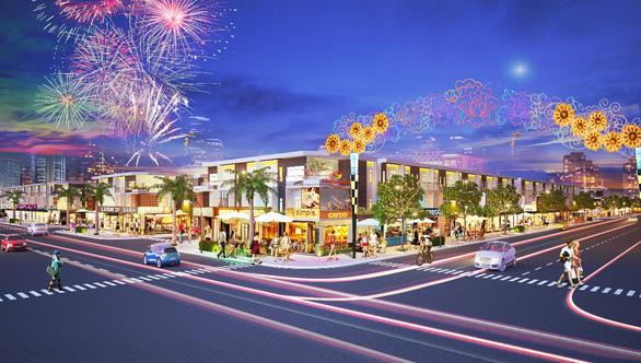 Công bố giai đoạn 2 phố thương mại Lộc Phát - Ảnh 1.