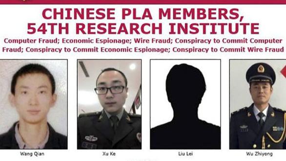 FBI: Quân nhân Trung Quốc đánh cắp dữ liệu 147 triệu người Mỹ - Ảnh 1.