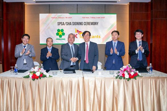 SK Lubricants sáp nhập với Mekong Petrochemical JSC - Ảnh 1.