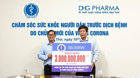 Doanh nghiệp dược góp sức phòng dịch nCoV cùng ngành y tế - Ảnh 2.