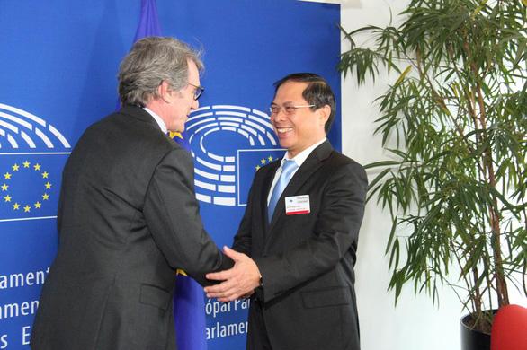 Nghị viện châu Âu thông qua Hiệp định thương mại tự do với Việt Nam - EVFTA - Ảnh 1.