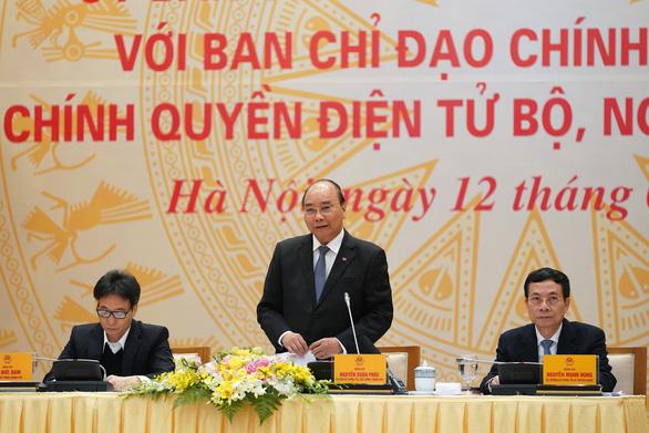Thủ tướng: Làm tốt chính phủ điện tử giúp ngăn ngừa corona - Ảnh 1.