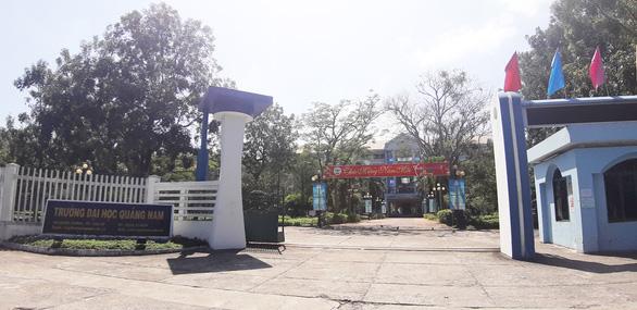 Khó tuyển sinh, Trường ĐH Quảng Nam muốn làm thành viên của ĐH Đà Nẵng - Ảnh 1.