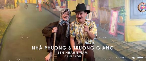 Trường Giang - Nhã Phương thành đôi vợ chồng già trong MV của Đức Phúc - Ảnh 4.