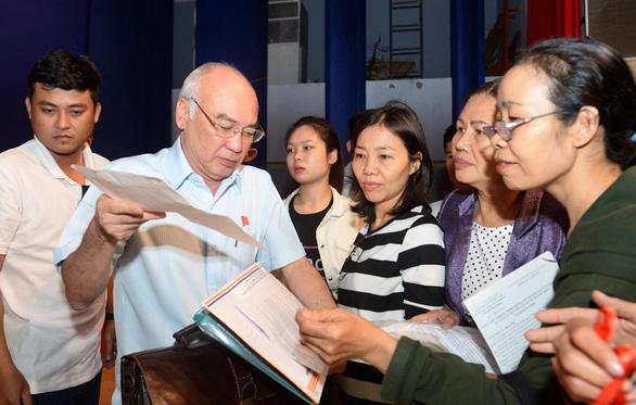TP.HCM hoãn đối thoại với dân Thủ Thiêm để tập trung chống dịch covid-19 - Ảnh 1.
