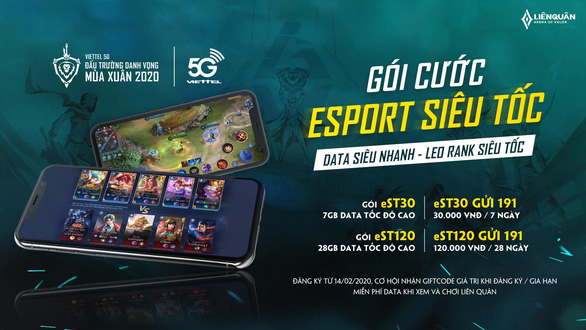 Viettel Telecom và Liên Quân Mobile công bố gói data Esport Siêu Tốc - Ảnh 2.
