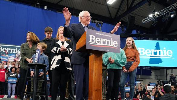 Bầu cử sơ bộ Mỹ: Ông Bernie Sanders dẫn đầu trong Đảng Dân chủ - Ảnh 1.