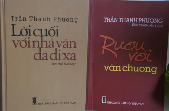 Nhớ Trần Thanh Phương - người giữ kỷ lục về sưu tập chân dung và bút tích nhà văn - Ảnh 3.