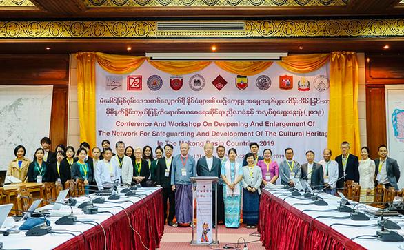 Giảng viên Duy Tân báo cáo tại hội thảo về bảo tồn di sản văn hóa quốc tế - Ảnh 1.