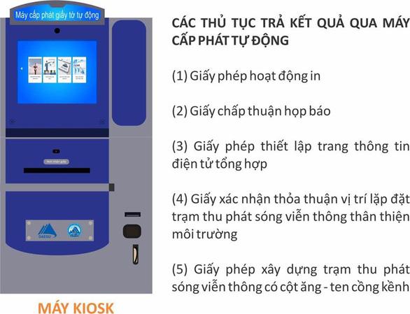 Đà Nẵng triển khai thí điểm máy cấp phát giấy tờ thủ tục hành chính tự động - Ảnh 1.