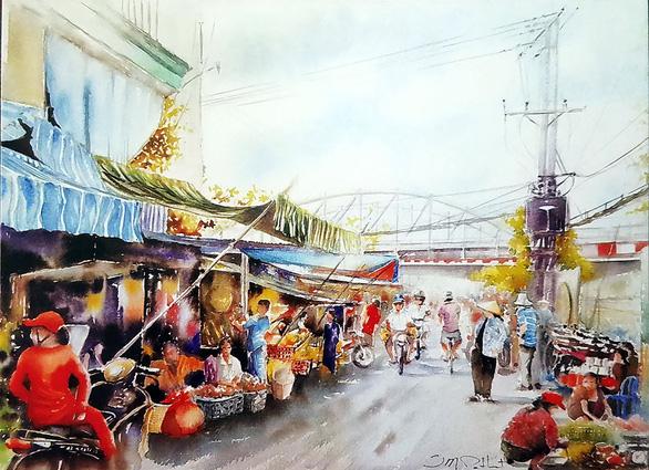 Sài Gòn ruổi rong nỗi nhớ: Thương Sài Gòn theo từng bước ngụ cư - Ảnh 1.
