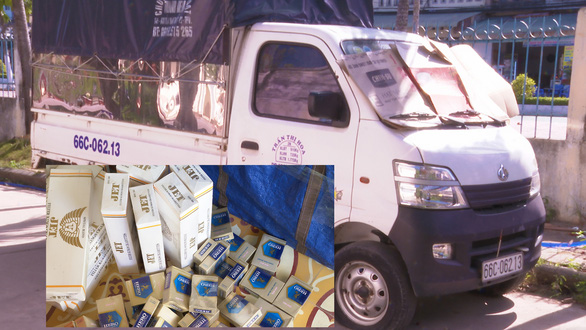 Chở thuốc lá lậu, bị tịch thu luôn xe tải và phạt 85 triệu đồng - Ảnh 1.