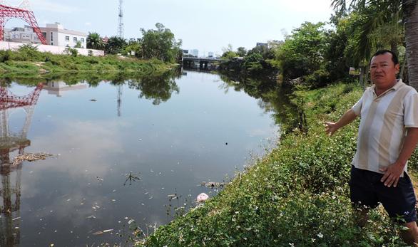Cá chết dày đặc, bốc mùi hôi thối ngày đêm trên sông Cầu Dứa, Nha Trang - Ảnh 1.