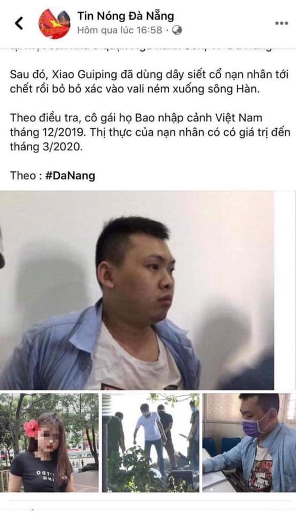 Câu view từ vụ người Trung Quốc giết đồng hương, quản trị viên fanpage bị xử lý - Ảnh 2.