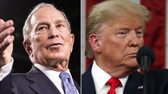 Ông Trump cà khịa với tỉ phú Bloomberg - Ảnh 2.