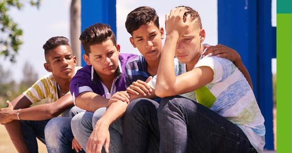 Thanh thiếu niên càng ngồi nhiều càng có nguy cơ cao mắc trầm cảm - Ảnh 1.