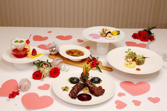 Ẩm thực 'Valentine Day 2020' tại một số khách sạn Saigontourist Group - Ảnh 1.