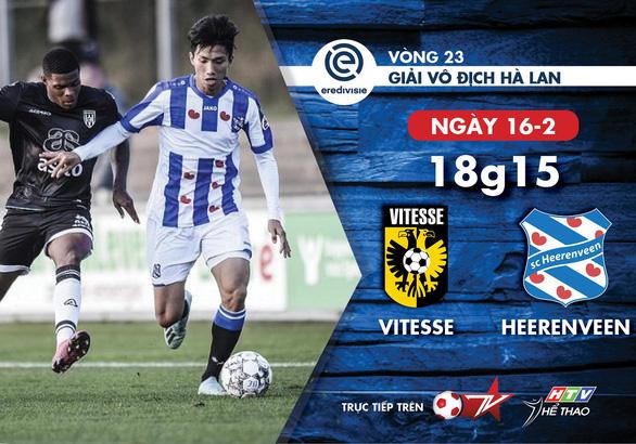 Lịch thi đấu của CLB Heerenveen hôm nay, lại chờ Văn Hậu - Ảnh 1.