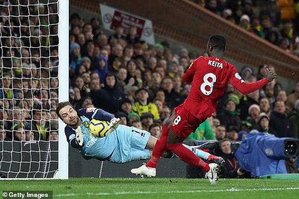 Mane hạ gục Norwich, Liverpool bỏ xa Manchester City 25 điểm - Ảnh 2.