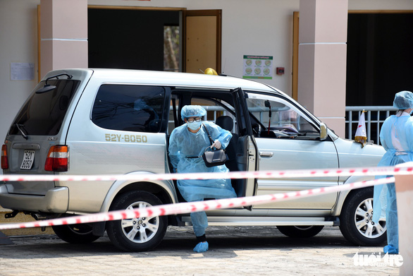Người vào cách ly ở bệnh viện dã chiến Củ Chi tăng là bình thường - Ảnh 5.