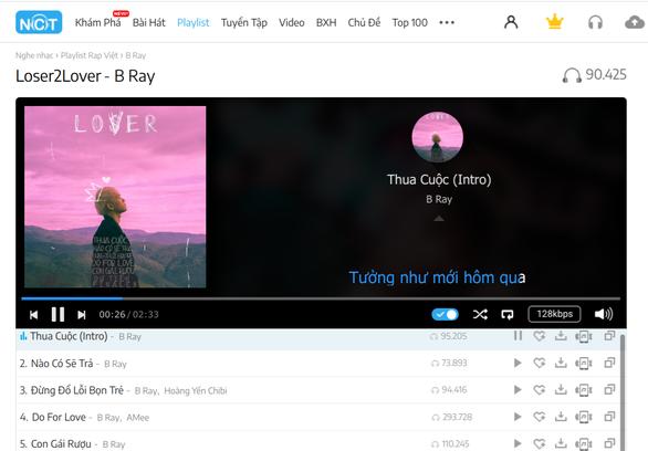 MV Do for love lọt top 2 trending, B Ray ra mắt album Loser2Love - Ảnh 2.