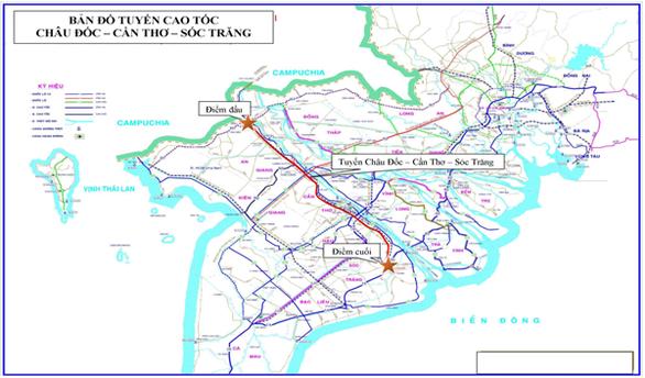 Lập dự án xây dựng 2 tuyến cao tốc ở miền Tây hơn 67.400 tỉ đồng - Ảnh 1.