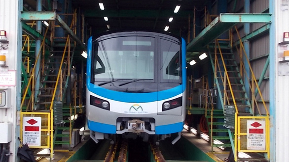Metro số 1 Bến Thành - Suối Tiên chạy thử vào quý 3 năm 2020 - Ảnh 1.