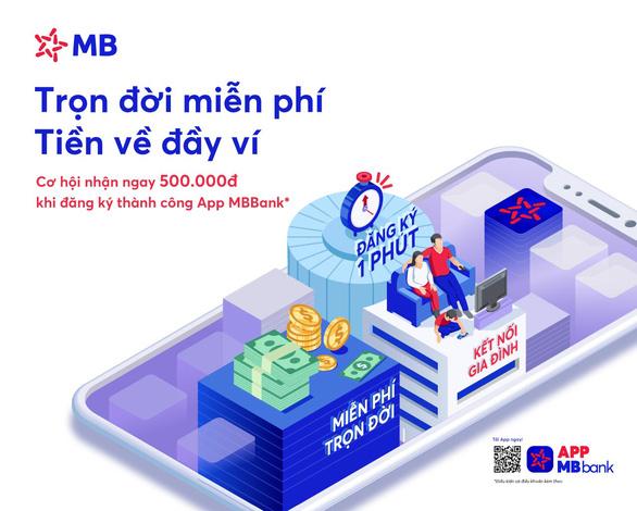 MB ra mắt App MBBank phiên bản mới - Ảnh 1.